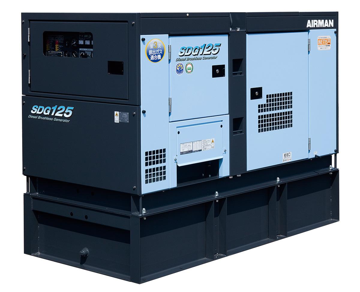 973563210c オイルフェンス一体型 SDGシリーズ   AIRMAN 北越工業株式会社